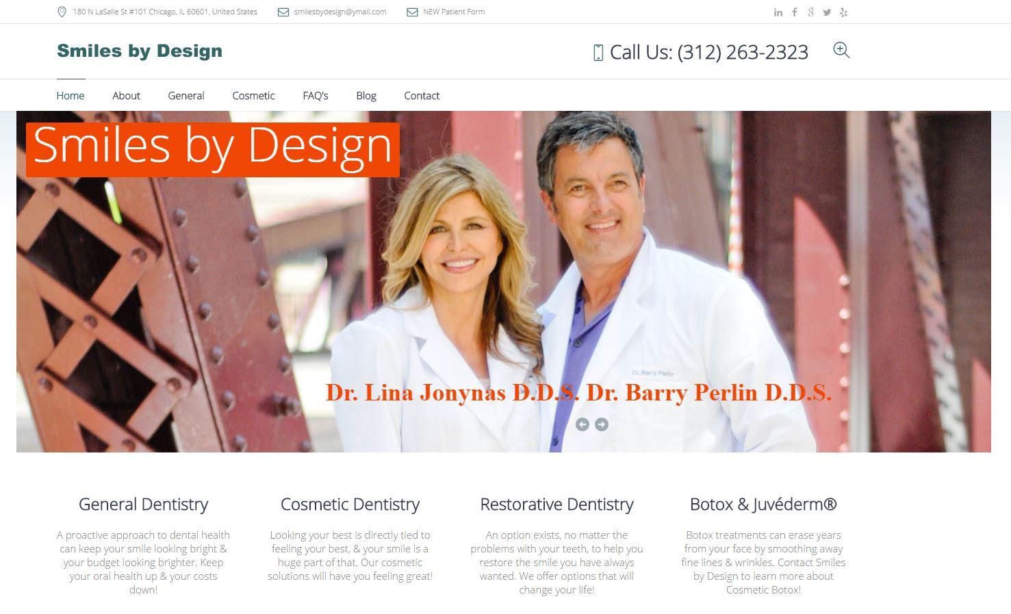 smilesbydesign_liftconversions_webdesign